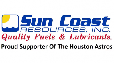 Sun Coast Resources Houston Astros supporter.